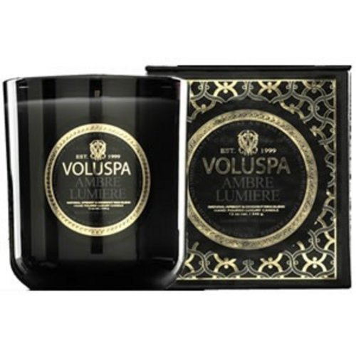 Voluspa Classic Maison Boxed Votive Candle, Ambre Lumiere, 3 Ounce ()