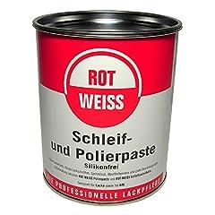 ROTWEISS 5100 Schleif- und Polierpaste