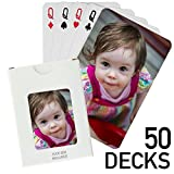 50 Decks - Custom Printed Playing Cards (50 Poker Size Decks)