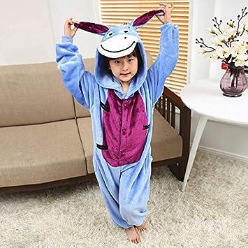 Hiswill Los niños Pijamas Invierno Pijamas de Franela Animal ...