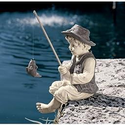 Design Toscano Frederic, the Little Fisherman of Avignon