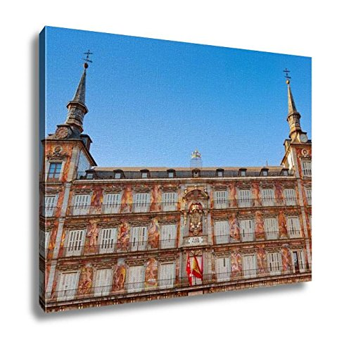 Ashley Canvas, Mayor Plazin Center Of Madrid Spain, Home Decoration Office, Ready to Hang, 20x25, AG5527807 by Ashley Canvas