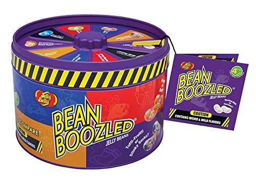 4th Edition Jelly Bean Boozled Gift Tin With Spinner Game 3.36OZ Jelly Bean Challenge Will It Taste Great Or -