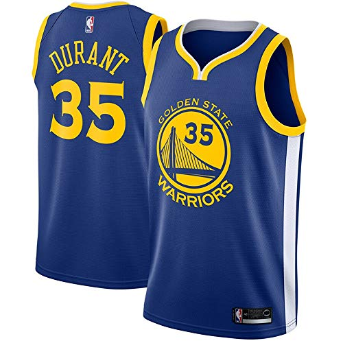 (Mitchell & Ness Men's Golden State Warriors #35 Kevin Durant Royal Swingman Jersey - Icon Edition XXL)