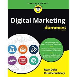 51eWK5fyoDL. SS300  - Digital Marketing For Dummies (For Dummies (Business & Personal Finance))