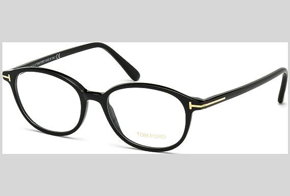 5f5d3c09a5 Tom Ford Montures de lunettes Pour Femme 5391 - 001: Shiny Black - 52mm:  Amazon.fr: Vêtements et accessoires