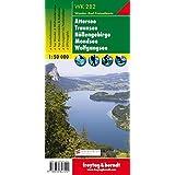 Carte de randonnée : Attersee, Traunsee, Höllengebirge, Mondsee, Wolfgangsee