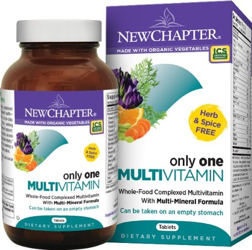 NEW CHAPTER - ONLY ONE MULTIVITAMIN - 72 TABLETTES