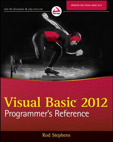 Visual Basic 2012 Programmer's Reference Pdf