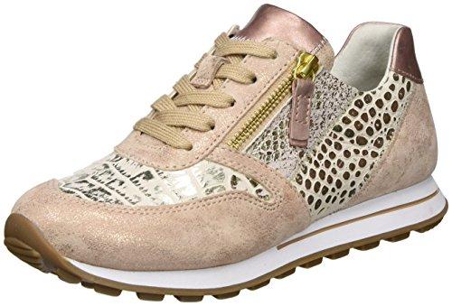 Comfort grau Rose Pink Gabor 18 Rame Sneakers Damen 48qwnzU