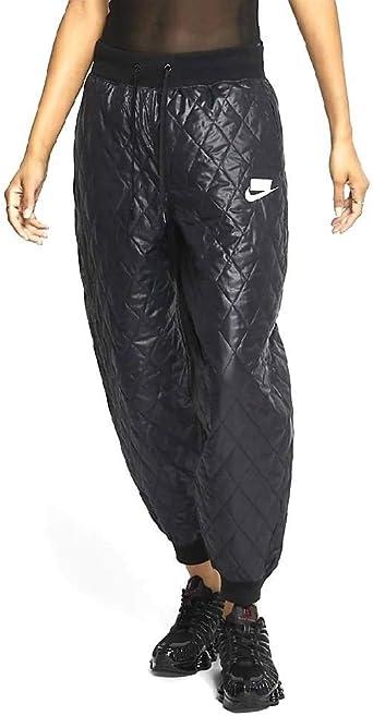 Amazon Com Nike Nsw Sport Pack Pantalones Acolchados Cj6256 010 Para Mujer Straight L Clothing