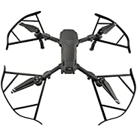 DJI Mavic Pro Propeller Guard, Kobwa Mavic Pro Drone Quick Release Bumper Protectors for Beginners Complex Airspace, Set of 4, 0.97oz/27.5g Each Only - Black