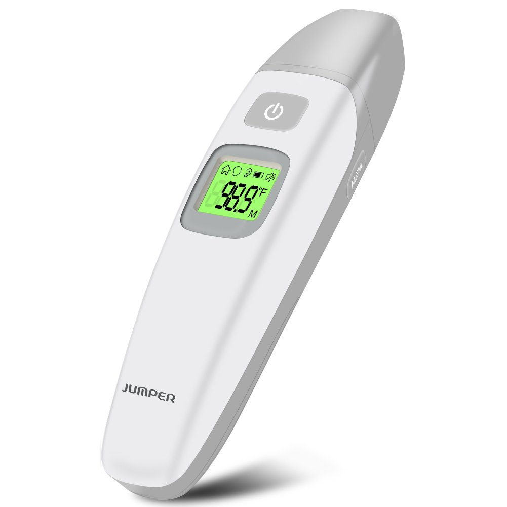 Baby Thermometer, Lifecolor Medical Infrared Forehead and Ear Thermometer, Fever Thermometer for Baby Kids and Adults