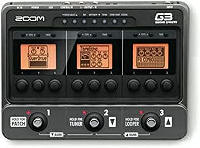 Zoom G3 Guitar Effects and Amp Simulator