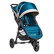 Baby Jogger City Mini GT Single Stroller, Teal/Gray