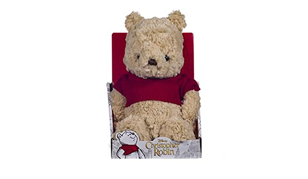 Disney Christopher Robin Collection Winnie The Pooh - Peluche (25 cm): Amazon.es: Juguetes y juegos