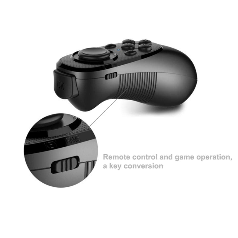 Gaming Controller Bluetooth VR Remote Control Gamepad Selfie Shutter for Android iOS TV Box