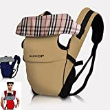 Ultra light Infant Baby Carrier Newborn Kid Wrap Backpack Comfort Sling 3 Months up to 36 Months (Ivory)