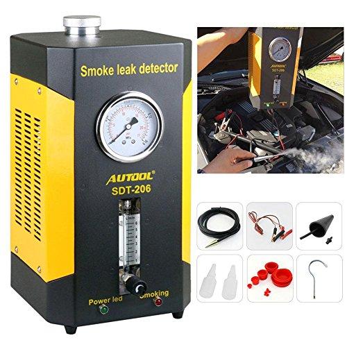 ExGizmo AUTOOL SDT206 Automotive Smoke Leak Diagnostic Fuel Leak Detector for Car Vehicle Boat Conduit Pipe Car EVAP Pipe (Pipe Car System)