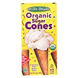 Let's Do Organics Organic Sugar Cones, 4.6 oz