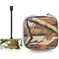 Bestok Trail Cam Card Viewer Wildlife Outdoor Scouting Cameras SD Card Reader for Scanning Pictures and Videos USB Hub Connector Kit Picture Reader with Storage Case for Android Phones Tablets