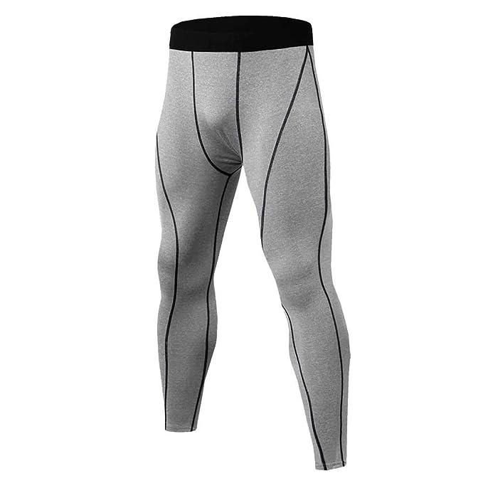beautyjourney Pantalones Largos de Entrenamiento para Hombre ...