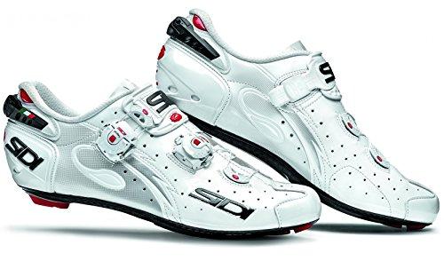 忌避剤コマンド効果的にSidi Wire Carbon Road Cycling Shoes – ホワイト/ホワイト