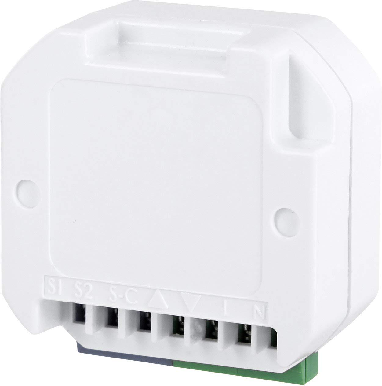 Wandaufbau Funk-Bewegungsmelder IP44 LED geeignet Batteriebetrieb
