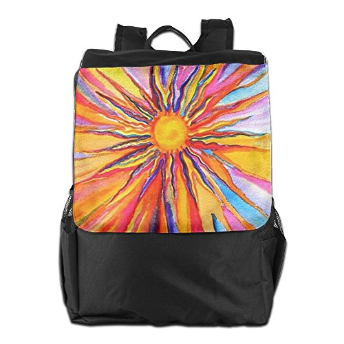 Adjustable Women HSVCUY Shoulder Backpack Personalized Colorful School Strap Storage Flowers Camping Travel Outdoors And Dayback Men For Cn8UCx