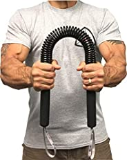 Core Prodigy Python Power Twister Bar - Upper Body Exercise for Chest, Shoulder, Forearm, Bicep and Arm Streng