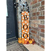 Boo Sign, Halloween Decor Outdoor, Boo Halloween, Halloween Sign, Farmhouse Halloween, Halloween Wood Decor, Decor for Halloween
