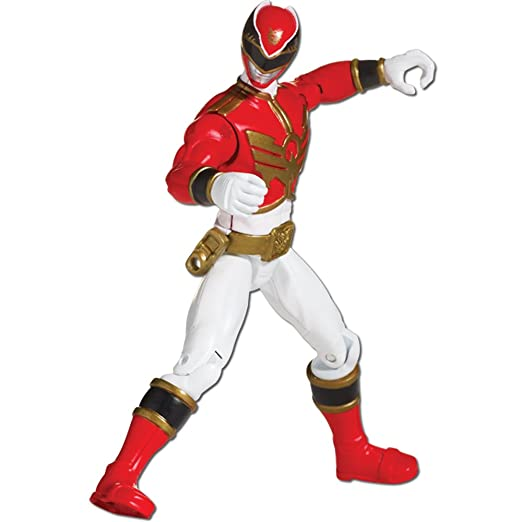 5 opinioni per Power Rangers Megaforce 10 Centimetri Red Ranger Figura con Carta di Azione