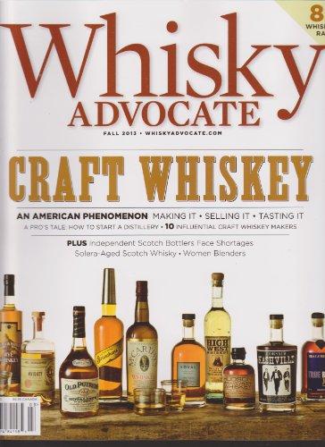 Whisky Advocate Magazine Fall 2013