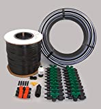 Vegetable Garden Drip Kit – 20 Rows x 50 Ft– Watering Garden Drip Irrigation