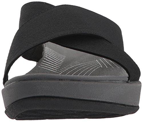 Solid Sandal Textile Elin Arla Us Women's 7 Black Medium Clarks wXBZUa