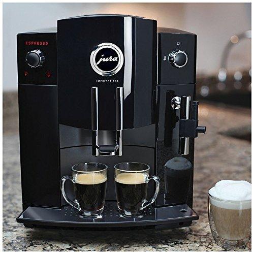 Jura Impressa C60 Automatic Coffee Center Bundle