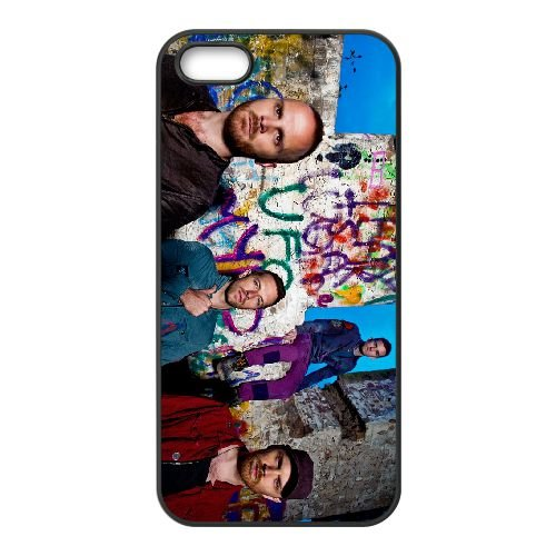 Coldplay 009 coque iPhone 5 5S cellulaire cas coque de téléphone cas téléphone cellulaire noir couvercle EOKXLLNCD22939