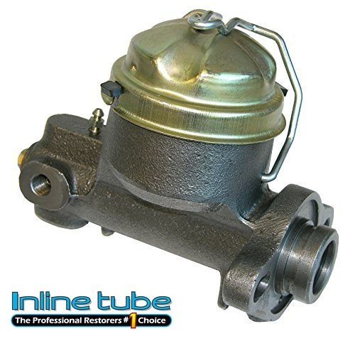 (N-3-2) Inline Tube Factory Single Master Cylinder Compatible with 1964-66 GM A Body Chevelle, El Camino