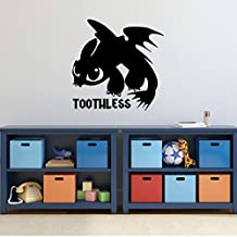 How To Train Your Dragon Wall Decal - Toothless Dragon - Personalized Wall Decor for Children's Bedroom or Playroom