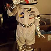Amazon.com: Aeromax Jr. Astronaut Helmet with Sounds White ...
