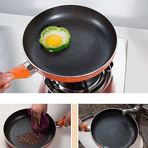 NYDZDM -Poêle à Frire antiadhésive Domestique Petit Steaks à crêpes Cuisinière à gaz réchaud à gaz Universel (Size : 46 * 26 * 5.3cm)
