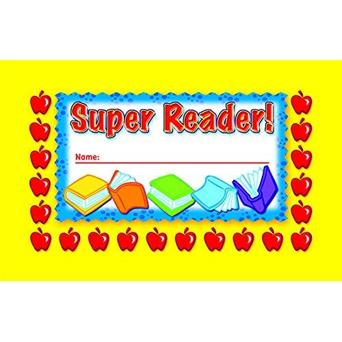 NORTH STAR TEACHER RESOURCE Super Reader Incentive Punch Cards ()