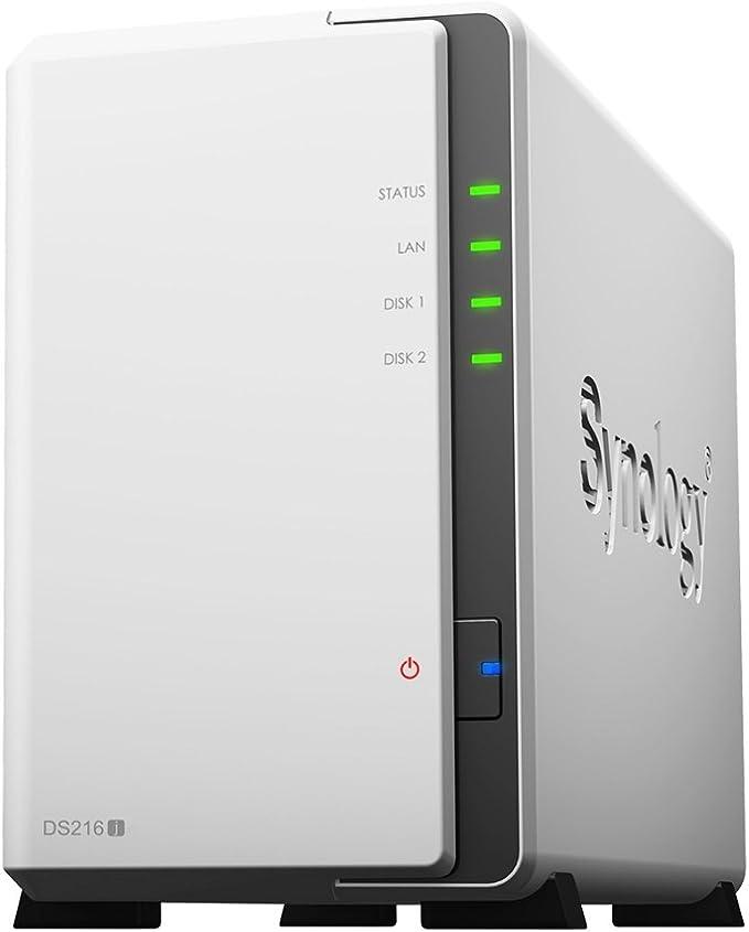 Synology Ds216j 2 Bay Desktop Nas Enclosure Computers Accessories