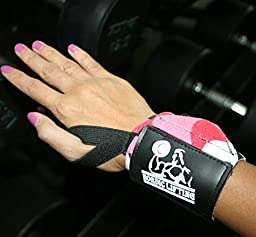 Wrist Wraps (2 Pairs/4 Wraps) for Weightlifting/Cross Training/Powerlifting/Bodybuilding - For Women & Men -Premium Quality Equipment & Accessories Hand Strength-(Leopard & Camo Red)-1 Year Warranty