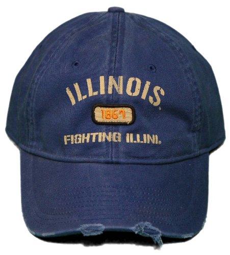 Illinois Buckle - New! University of Illinois - Adjustable Buckle Back Cap - Fighting Illini