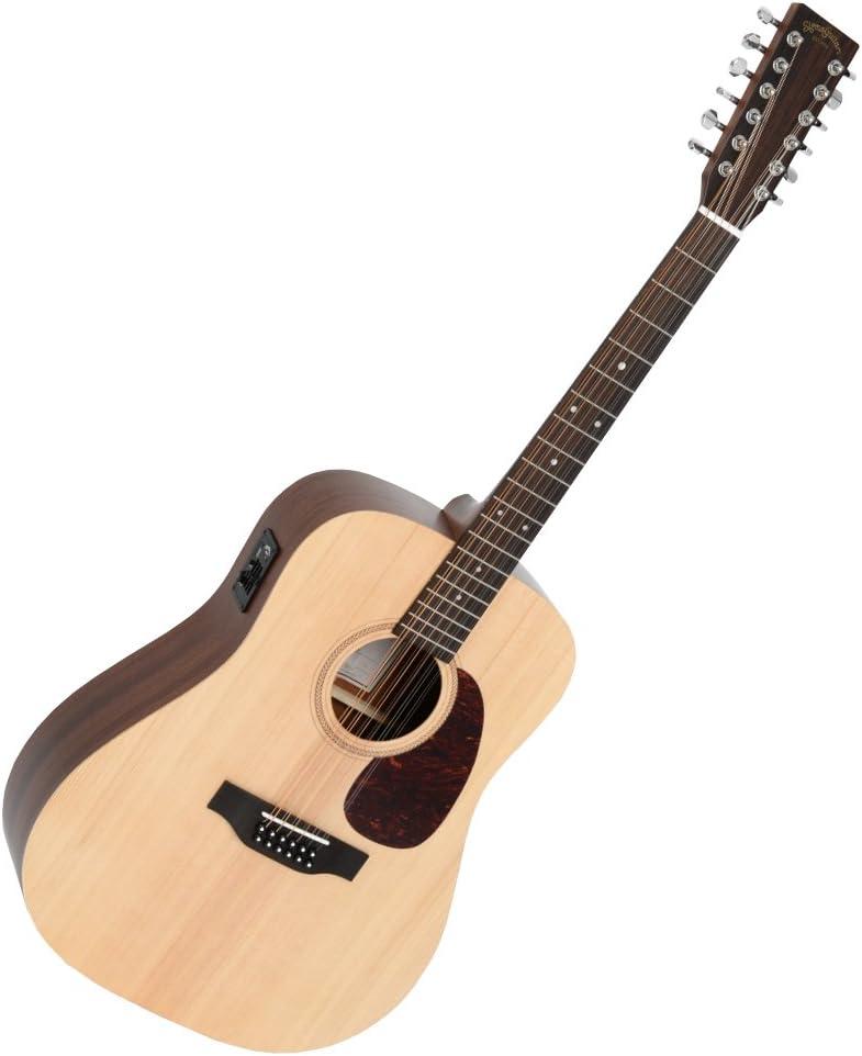 DM12E 12-String Natural Satin