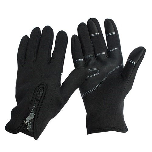 Windstopper Men's Touchscreen Texting Smartouch Tech Gloves Winter Motorcycle Driving Gloves Full Finger Windproof Warm Hand Gloves Cycling Gloves Racing Gloves Size Large
