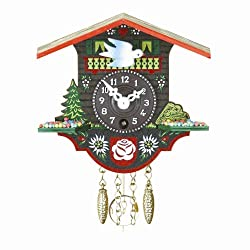 Trenkle Black Forest Clock Swiss House TU 16 P