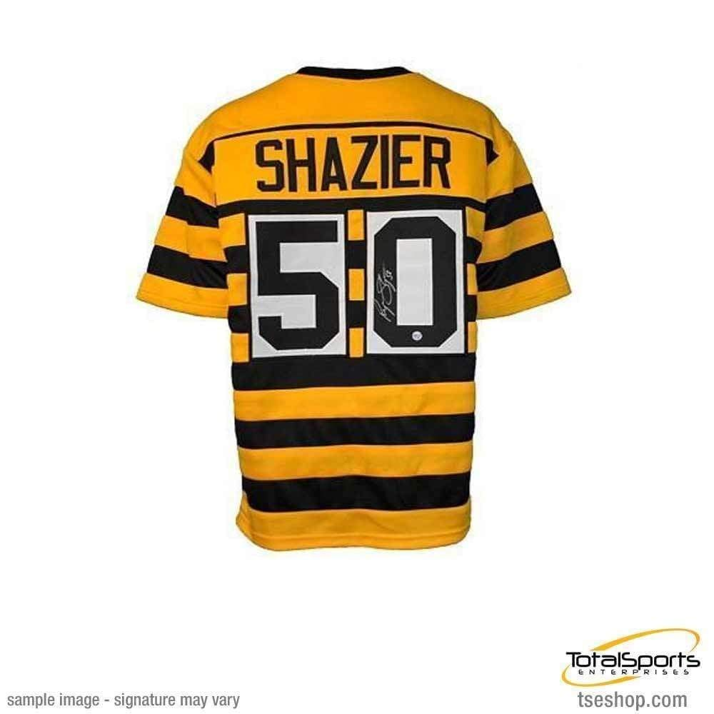 3c1637799 Ryan Shazier Autographed Signed Bumble Bee  50 Custom Jersey - Certified  Authentic