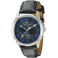 Lucien Piccard Men's LP-40005-01-BLA Olympus Analog Display Japanese Quartz Black Watch